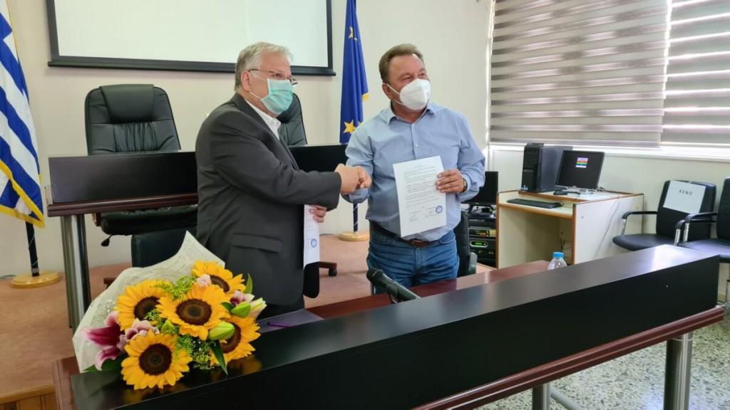 Υπογραφή Συμφώνου Συνεργασίας μεταξύ του Δήμου Ασπροπύργου και του Οργανισμού «Το Χαμόγελο του Παιδιού»