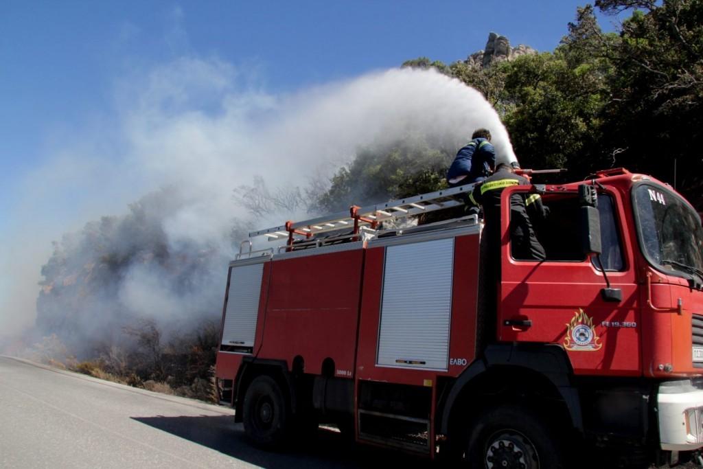 Πολιτική Προστασία – Πολύ υψηλός κίνδυνος πυρκαγιάς τη Δευτέρα σε τέσσερις περιφέρειες της χώρας
