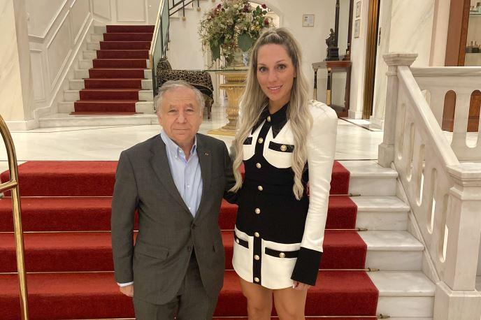 Τον Jean Todt στην Αθήνα συνάντησε η Ρόη Δανάλη Αποστολοπούλου