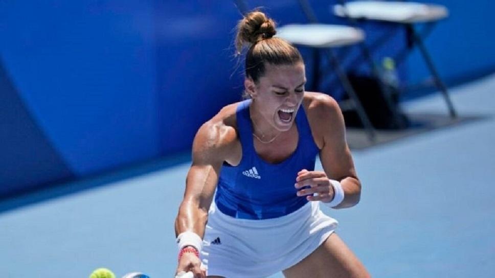«Χρυσό» πριμ εξασφάλισε η Σάκκαρη με την πρόκριση της στους «8» του US Open