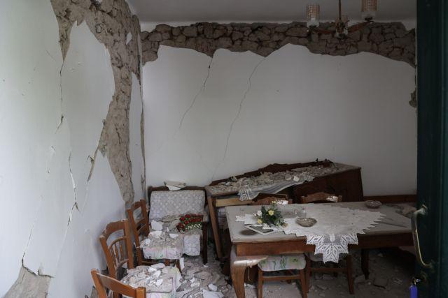 Συνδρομή των Ενόπλων Δυνάμεων στις σεισμόπληκτες περιοχές της Κρήτης