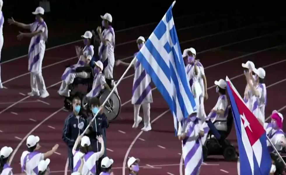 Παραολυμπιακοί Αγώνες – Η είσοδος Ελλάδας και Κύπρου στην τελετή λήξης