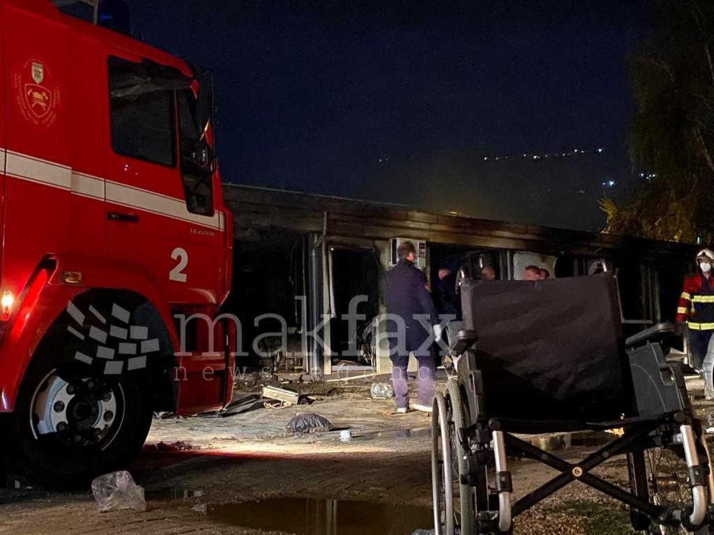 Τραγωδία στη Β. Μακεδονία – Τουλάχιστον 10 νεκροί από πυρκαγιά σε προκάτ μονάδα COVID-19 (φρικτές εικόνες)