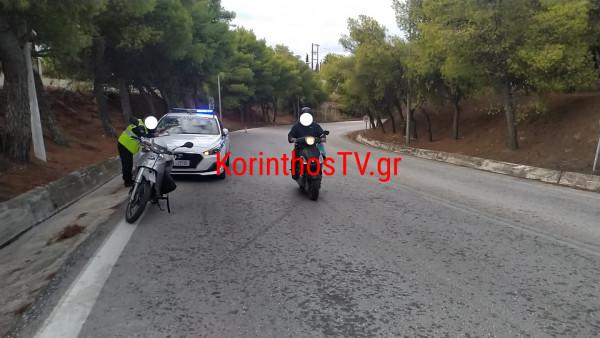 Κόρινθος – Όχημα ανετράπη στην Παλαιά Εθνική Οδό Αθηνών – Κορίνθου