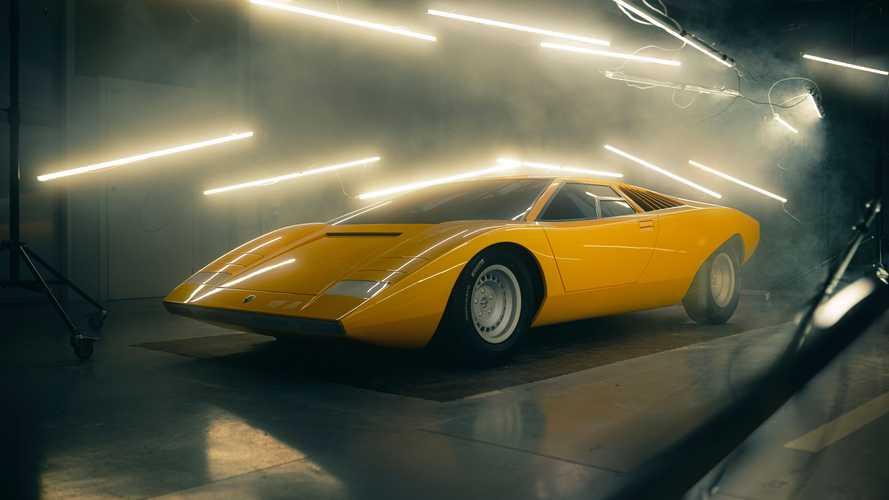 Αναδομώντας την Lamborghini Countach LP 500