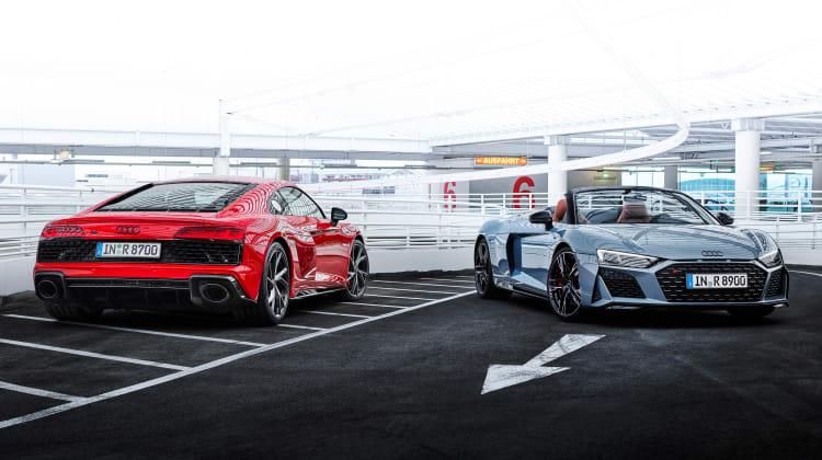 Audi R8 V10 RWD Performance: Ασκήσεις ισχύος