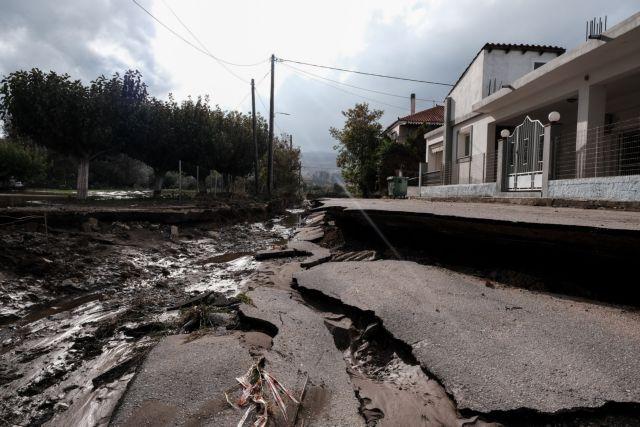 Κακοκαιρία «Αθηνά» –  Οι ζημιές που άφησε πίσω της – Βιβλική καταστροφή στην Εύβοια