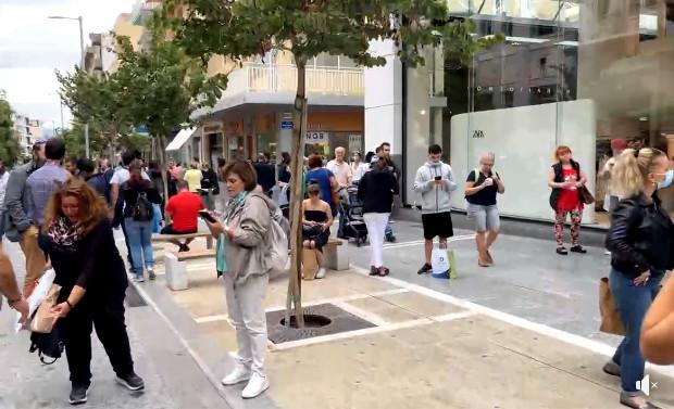 Σεισμός στην Κρήτη – Εντρομοι οι κάτοικοι του Ηρακλείου – Βγήκαν στους δρόμους μετά τα 6,3 Ρίχτερ
