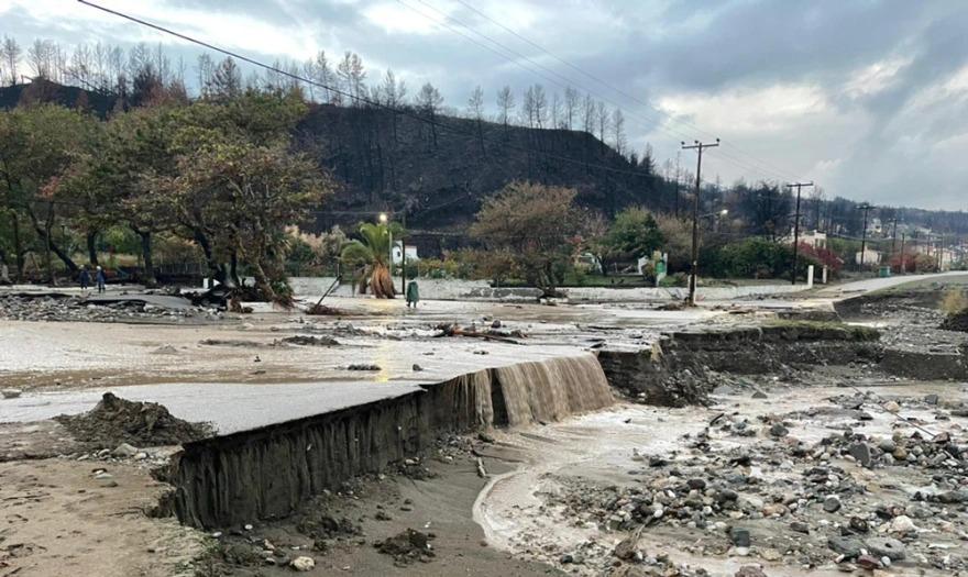 Εύβοια – Η κακοκαιρία «Αθηνά» σάρωσε την Βόρεια Εύβοια – Εικόνες βιβλικής καταστροφής