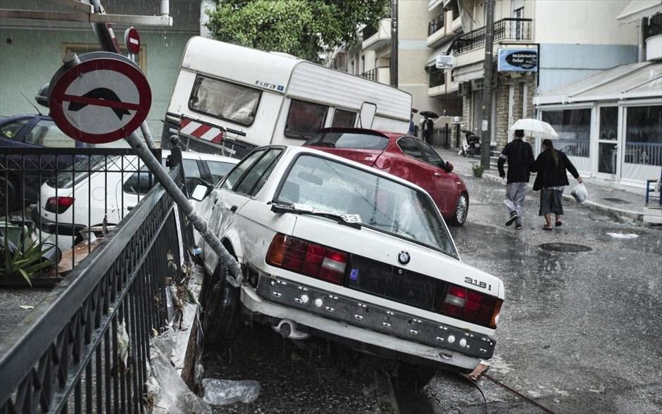 Δυτική Αττική – Μεγάλες ζημιές και προβλήματα από την κακοκαιρία