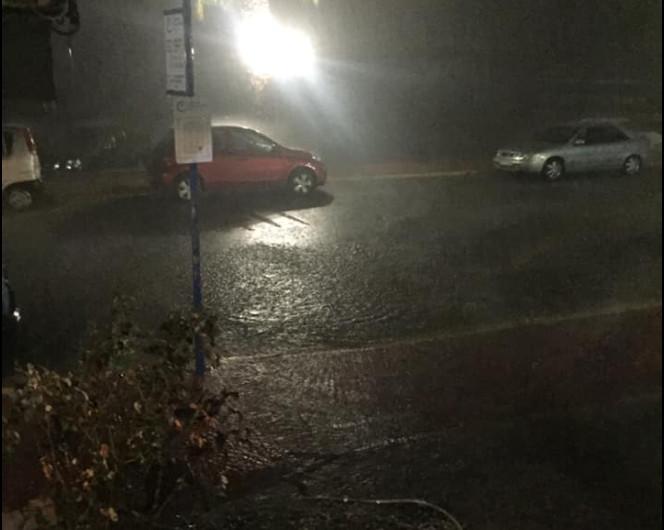 Κακοκαιρία Αθηνά – Εντονη βροχόπτωση και πλημμυρικά φαινόμενα στην Κέρκυρα