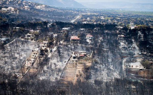 Πυρκαγιά στο Μάτι - Ποινική δίωξη στον πρώην αρχηγό της Πυροσβεστικής