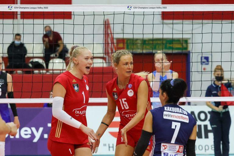 Μιντσάνκα Μινσκ – Ολυμπιακός 0-3 – Σάρωσαν στο Μινσκ τα Θρυλικά κορίτσια