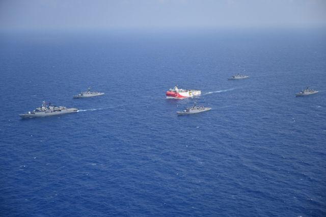 Επιστροφή στο καλοκαίρι του 2020 από την Τουρκία – Ξαναβγάζει το Oruc Reis στη Μεσόγειο και συνεχίζει τις απειλές για το Nautical Geo