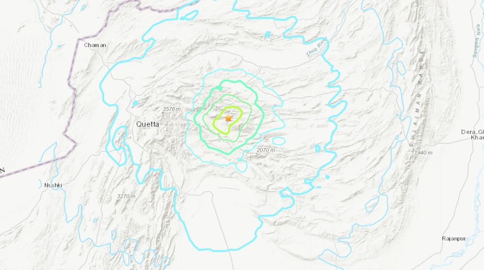 Τρόμος στο Πακιστάν – Δεκάδες νεκροί από σεισμό 5,7 Ρίχτερ – Κατέρρευσαν κτίρια
