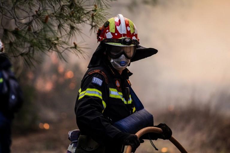 Φωτιά στον Μαραθώνα – Τέθηκε υπό έλεγχο
