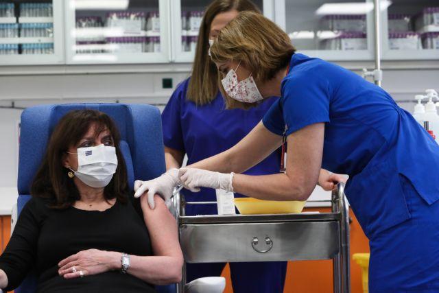 Κοροναϊός – Εμβόλιο – Την τρίτη δόση θα κάνει αύριο η Κατερίνα Σακελλαροπούλου